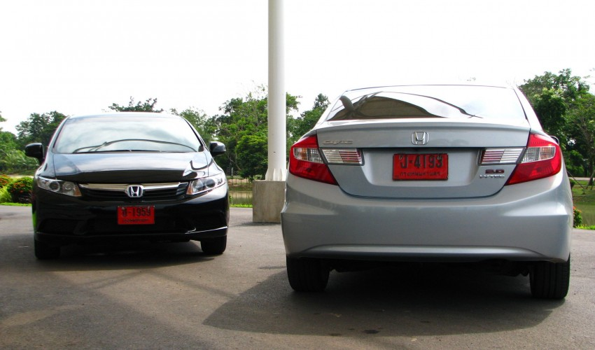 DRIVEN: 2012 Honda Civic FB (9th Gen) previewed in Thailand – not pretty, but handles brilliantly! Image #114559