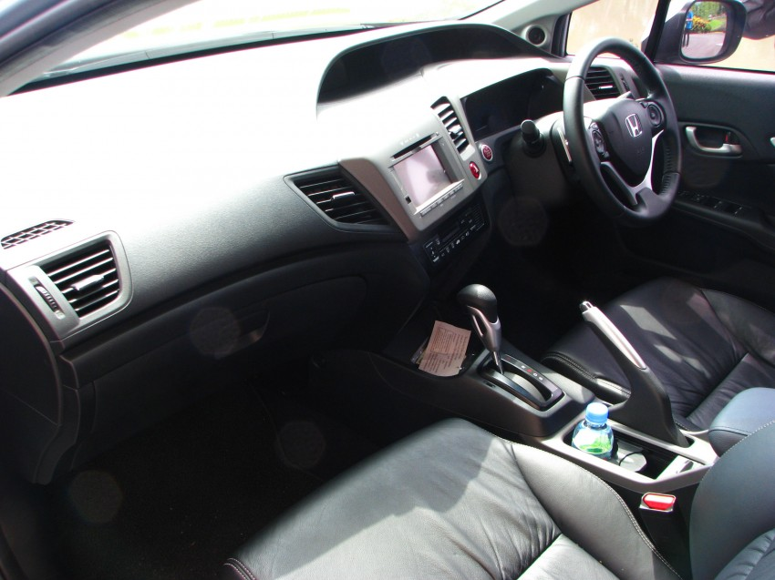 DRIVEN: 2012 Honda Civic FB (9th Gen) previewed in Thailand – not pretty, but handles brilliantly! Image #114576