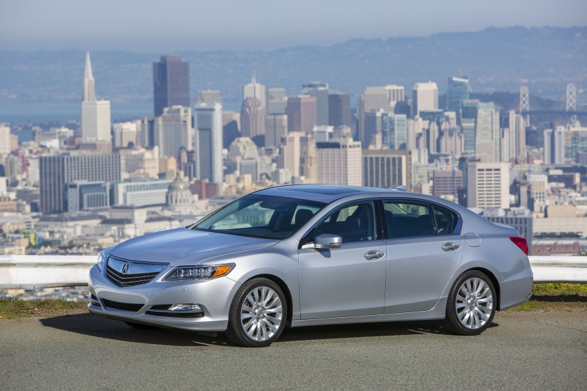 GALLERY: All-new 2014 Acura RLX – Honda's 5-Series Image #155220