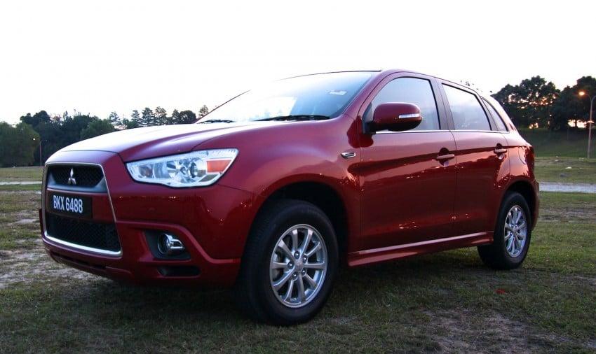 SUV shootout: Mitsubishi ASX vs Nissan X-Trail vs Honda CR-V vs Hyundai Tucson vs Peugeot 3008! Image #154112
