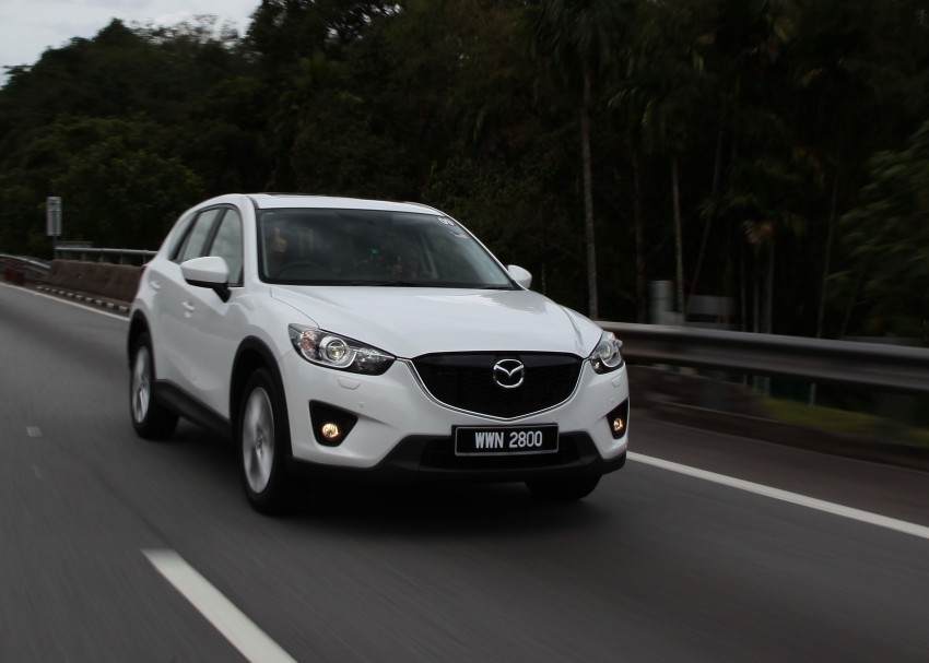 Mazda CX-5 test drive review: driven to the beach! Image #108013