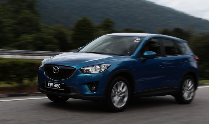 Mazda CX-5 test drive review: driven to the beach! Image #108018