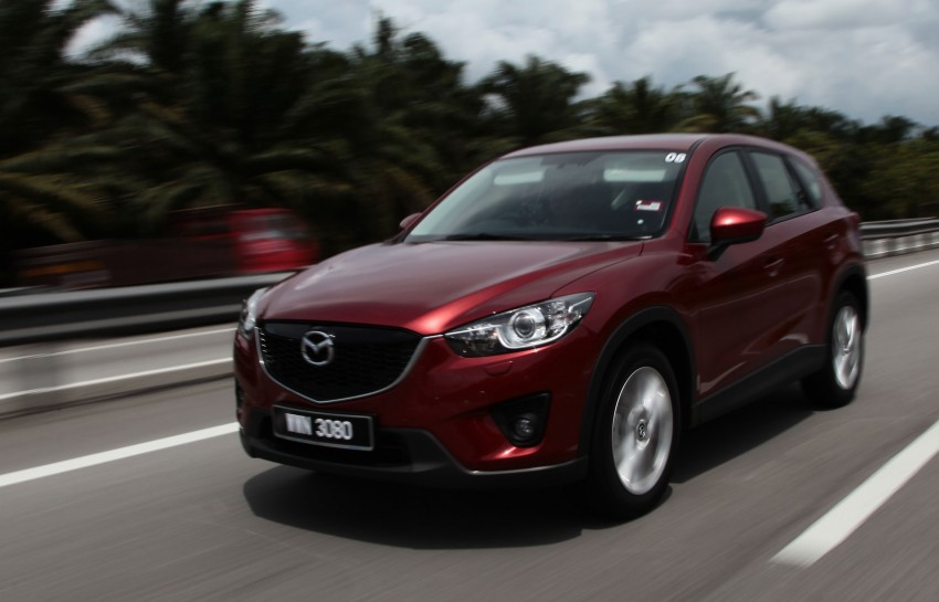 Mazda CX-5 test drive review: driven to the beach! Image #108019