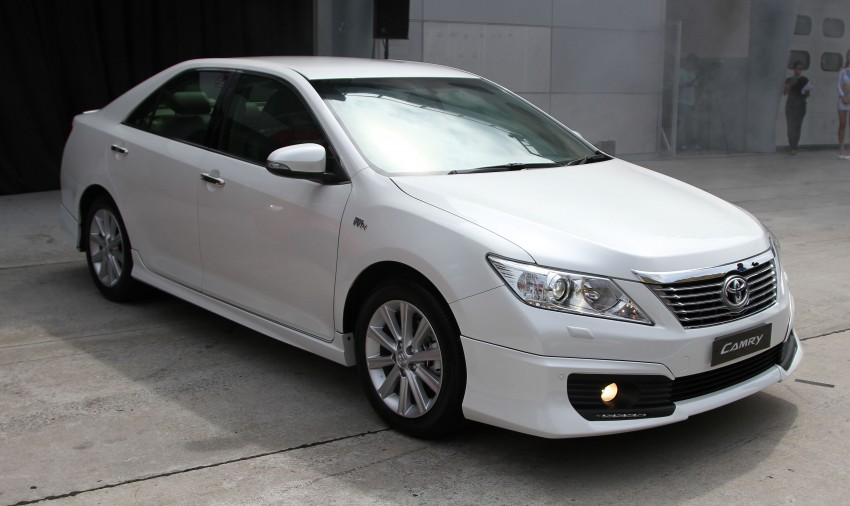 Toyota Camry XV50 launched – RM150k to RM181k Image #109875