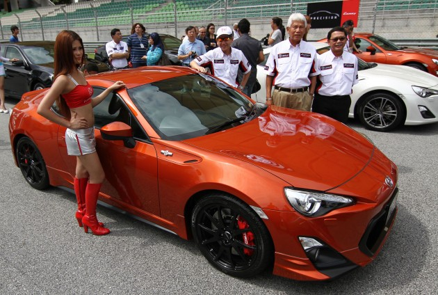 Toyota 86 Officially Launched In Malaysia Manual Going