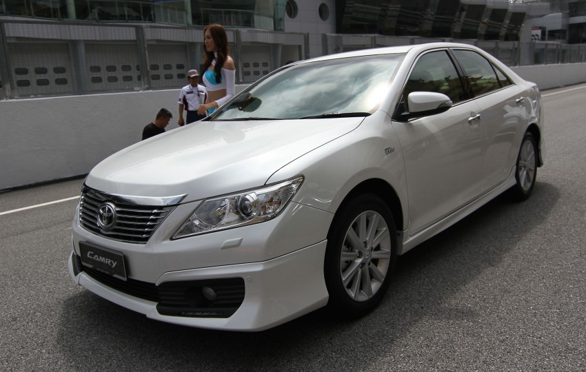 Toyota Camry XV50 launched – RM150k to RM181k Image #109840