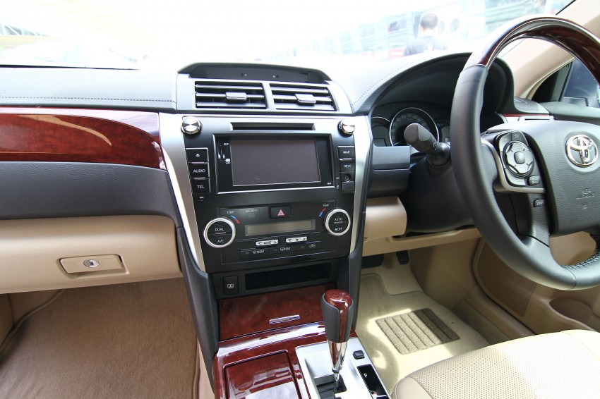 Toyota Camry XV50 launched – RM150k to RM181k Image #109833