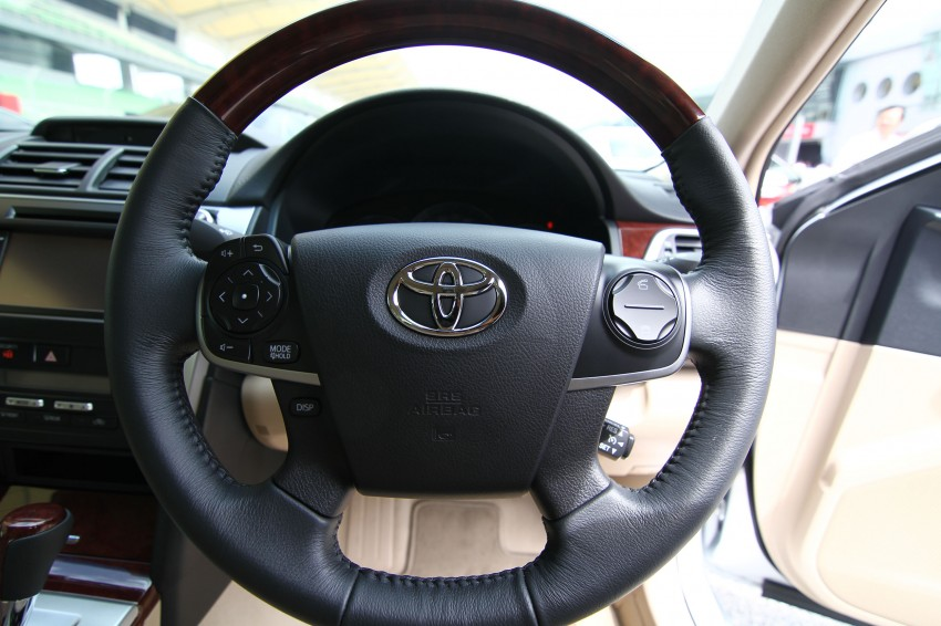 Toyota Camry XV50 launched – RM150k to RM181k Image #109852