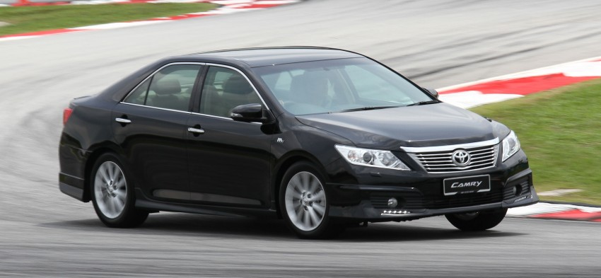Toyota Camry XV50 – a brief test session at the SIC Image #109969