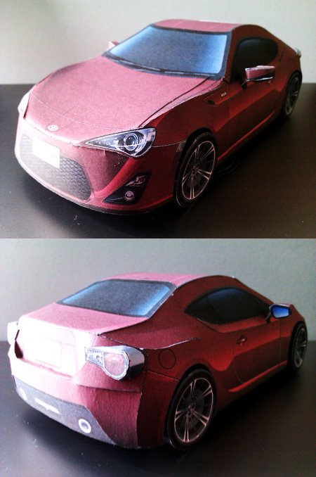 Toyota 86 assembled. Photo taken. Prize will be won. Image #104260