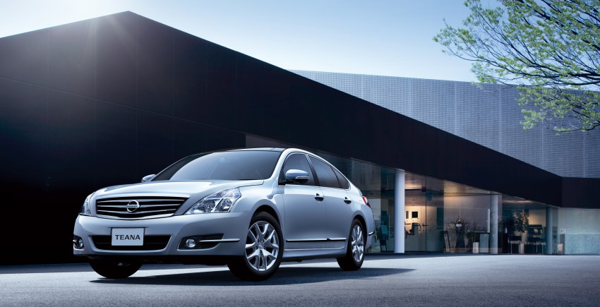 Nissan Teana facelift – small changes for Japan Image #122568