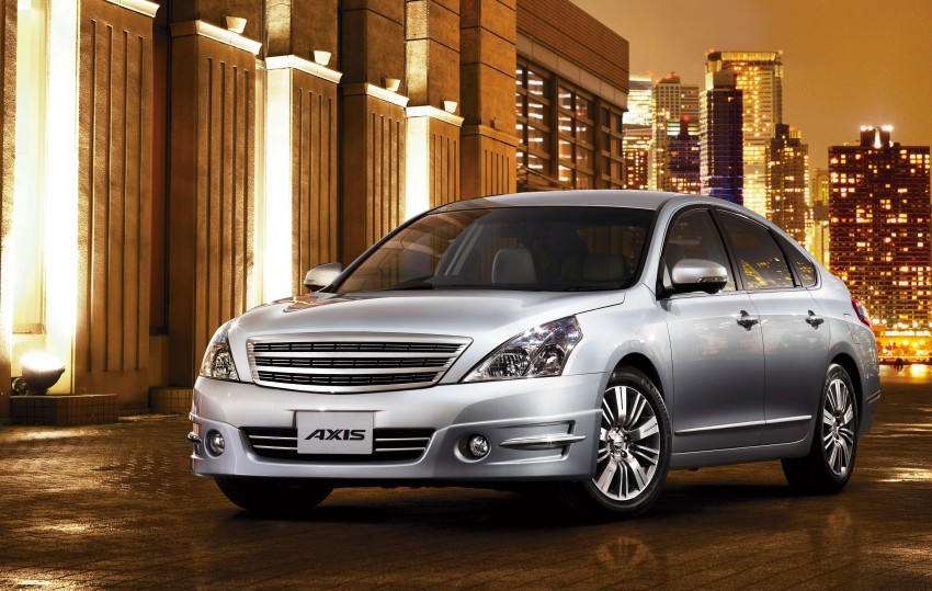 Nissan Teana facelift – small changes for Japan Image #122564