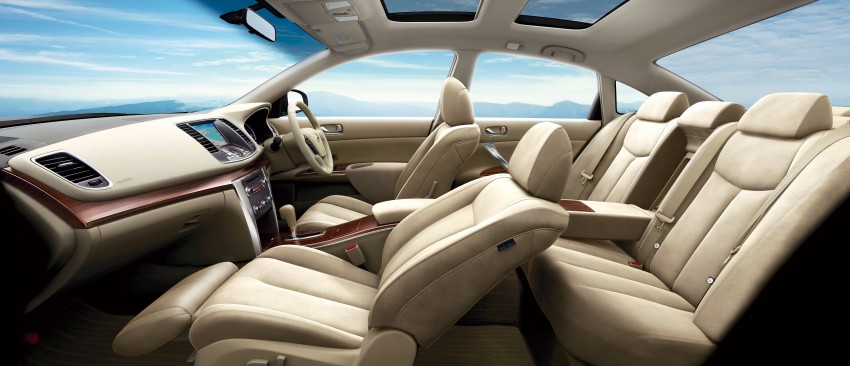 Nissan Teana facelift – small changes for Japan Image #122533