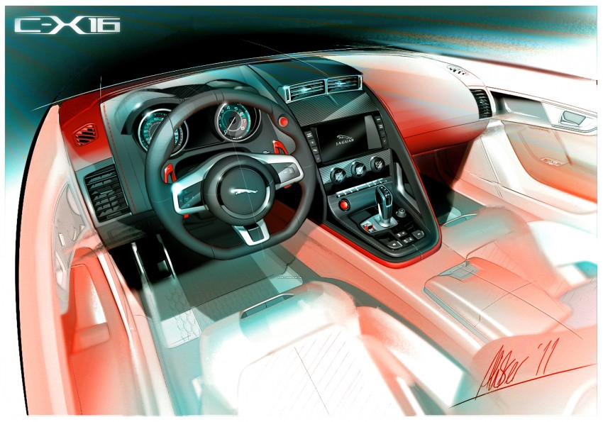 Frankfurt preview: Jaguar C-X16 Concept, 911 here I come! Image #67487