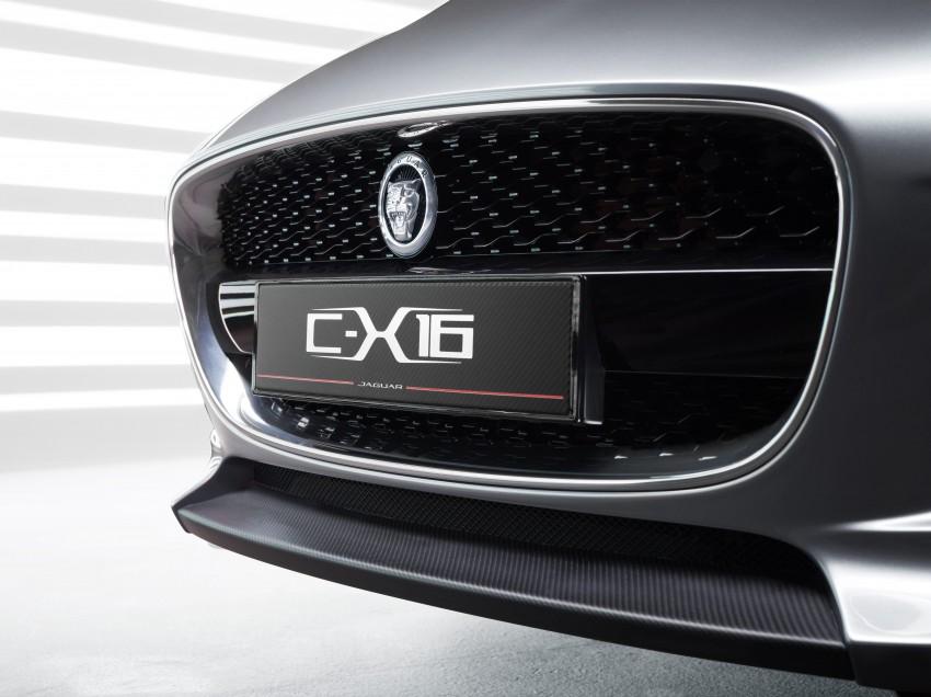 Frankfurt preview: Jaguar C-X16 Concept, 911 here I come! Image #67508