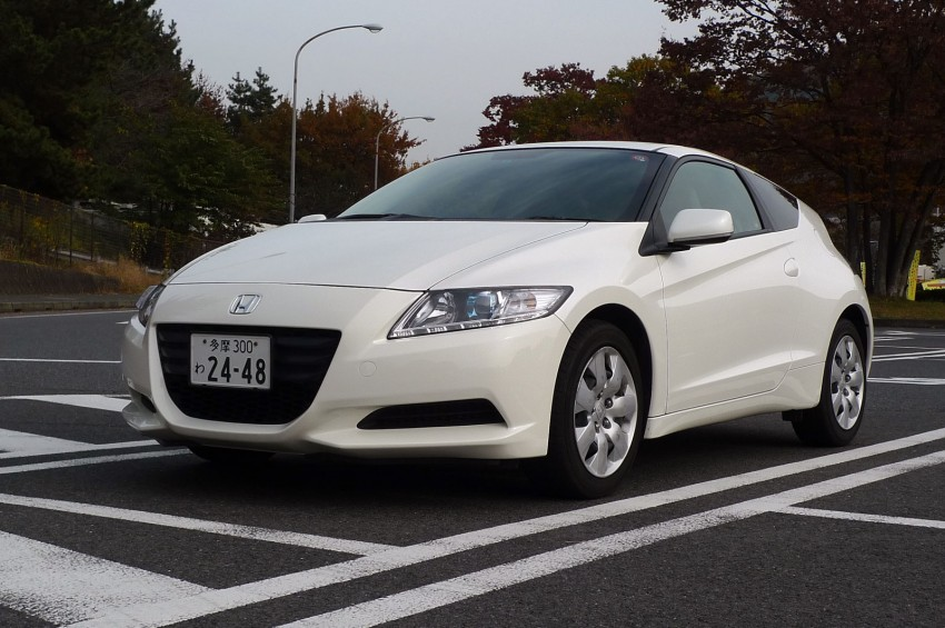TESTED: Honda CR-Z Hybrid, both Manual and CVT driven in Malaysia and Japan Image #115549