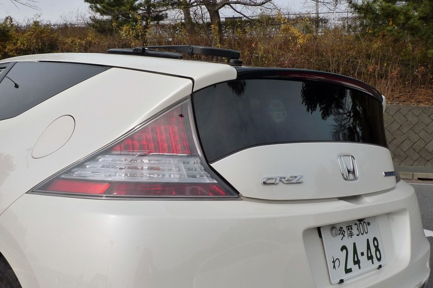 TESTED: Honda CR-Z Hybrid, both Manual and CVT driven in Malaysia and Japan Image #115555