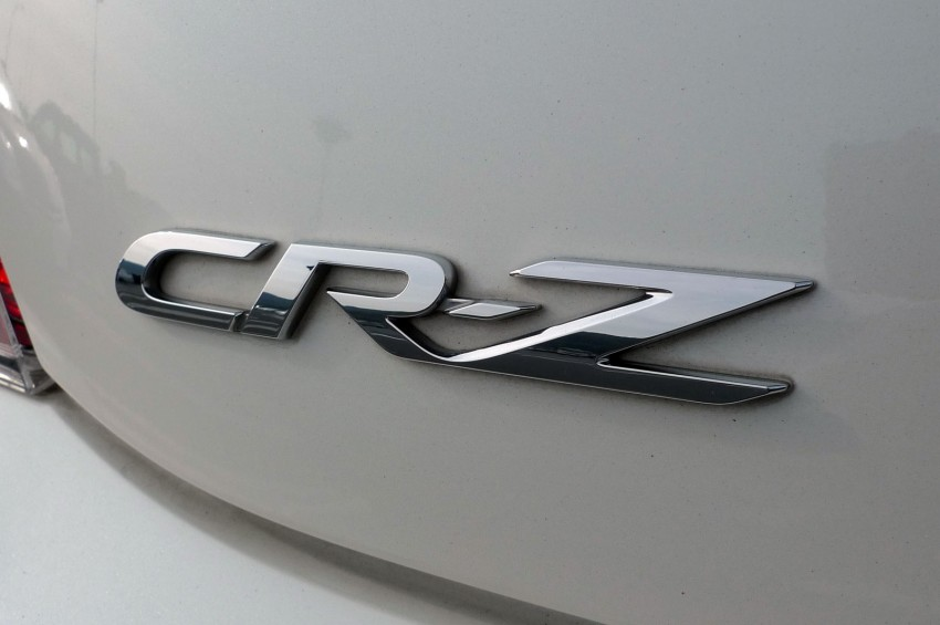 TESTED: Honda CR-Z Hybrid, both Manual and CVT driven in Malaysia and Japan Image #115557