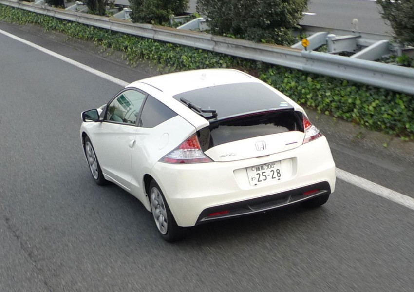 TESTED: Honda CR-Z Hybrid, both Manual and CVT driven in Malaysia and Japan Image #115567