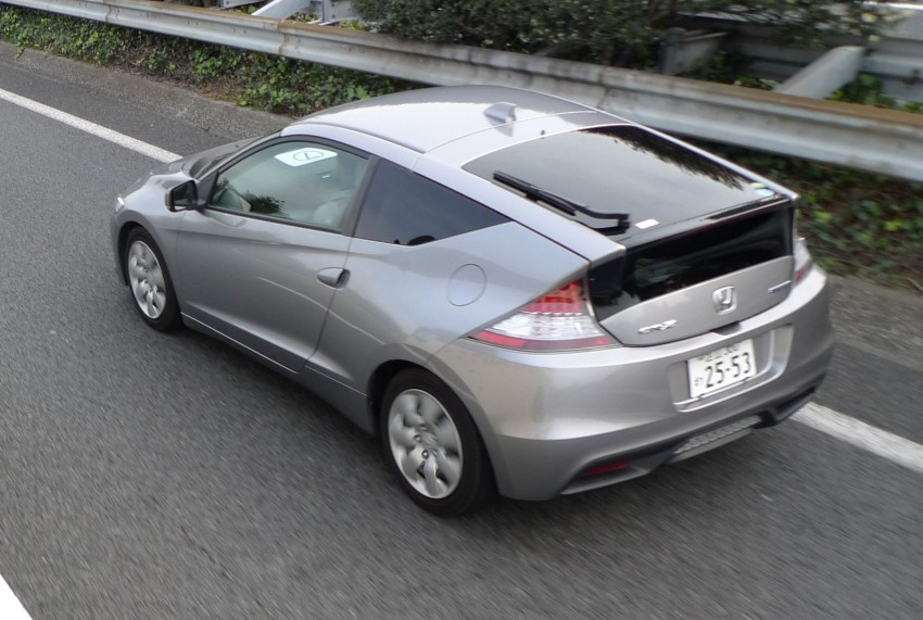 TESTED: Honda CR-Z Hybrid, both Manual and CVT driven in Malaysia and Japan Image #115568