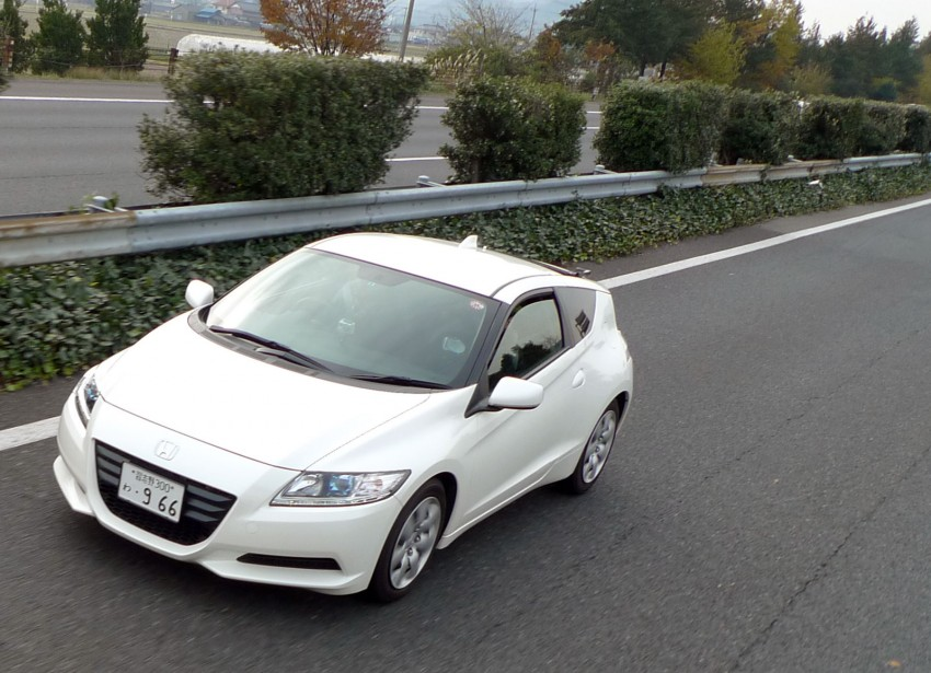TESTED: Honda CR-Z Hybrid, both Manual and CVT driven in Malaysia and Japan Image #115569