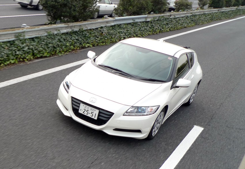 TESTED: Honda CR-Z Hybrid, both Manual and CVT driven in Malaysia and Japan Image #115570