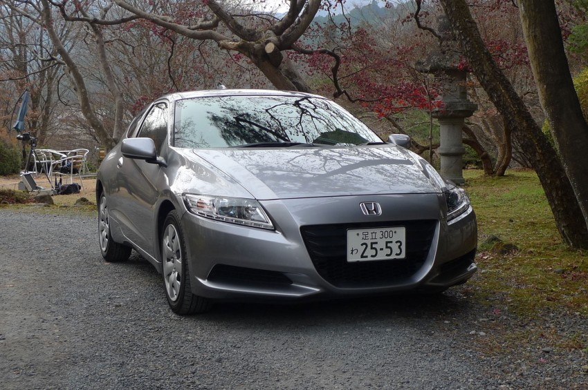 TESTED: Honda CR-Z Hybrid, both Manual and CVT driven in Malaysia and Japan Image #115574