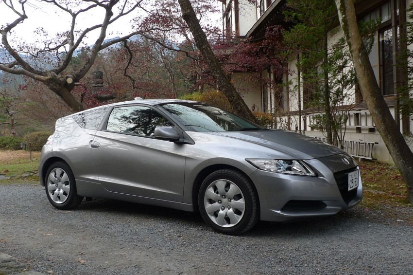 TESTED: Honda CR-Z Hybrid, both Manual and CVT driven in Malaysia and Japan Image #115575