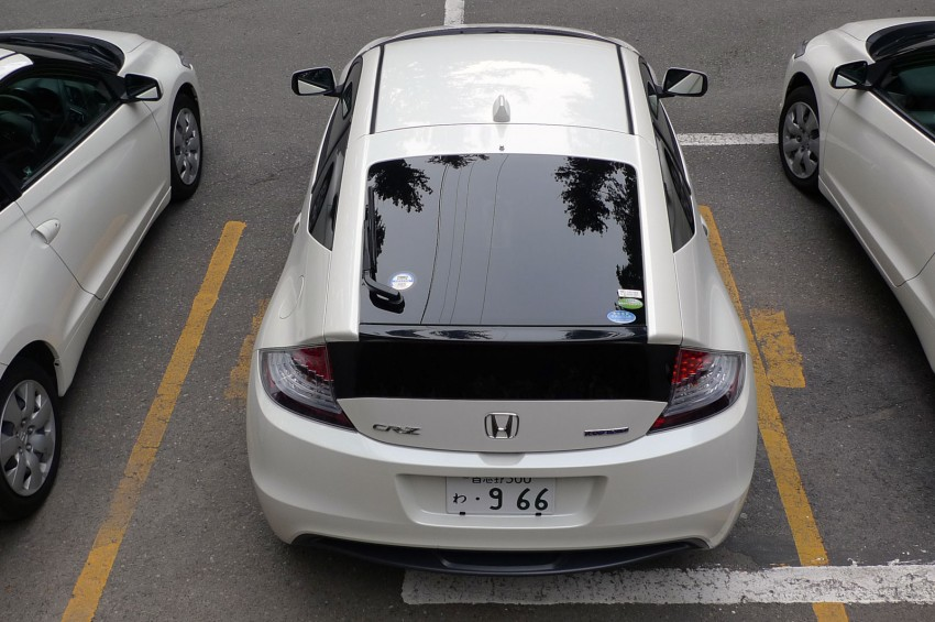 TESTED: Honda CR-Z Hybrid, both Manual and CVT driven in Malaysia and Japan Image #115578