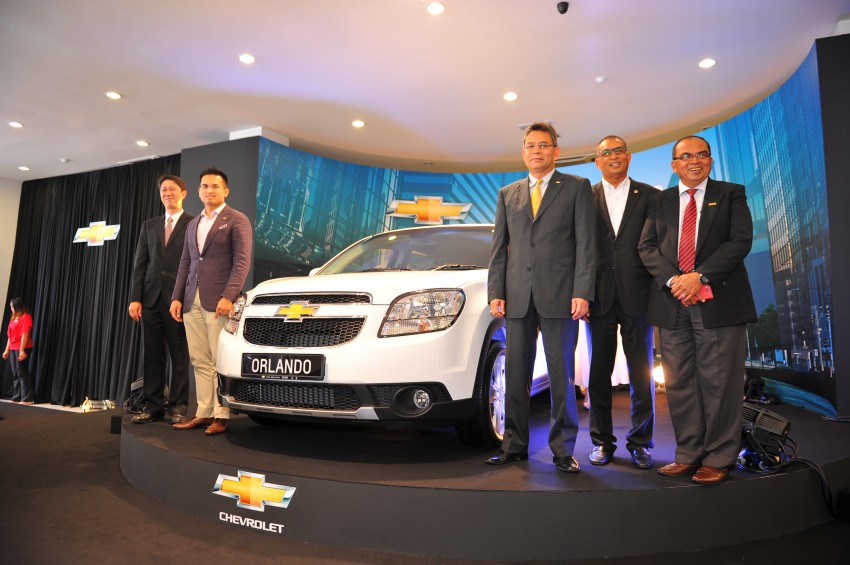 Chevrolet Orlando officially launched – RM118,888 Image #145880