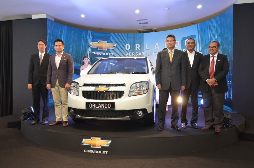 Chevrolet Orlando officially launched – RM118,888 Image #145881