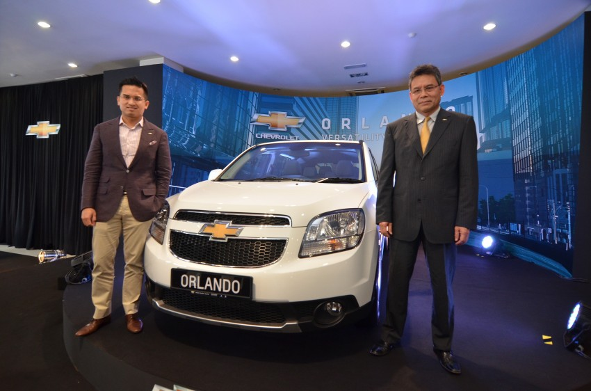 Chevrolet Orlando officially launched – RM118,888 Image #145882