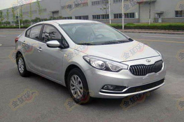 Kia K3 – China gets K9-style grille and unique rear end, we get first glimpse at the dashboard Image #127035