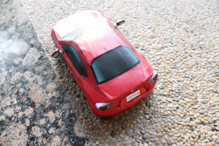 Toyota 86 assembled. Photo taken. Prize will be won. Image #104269