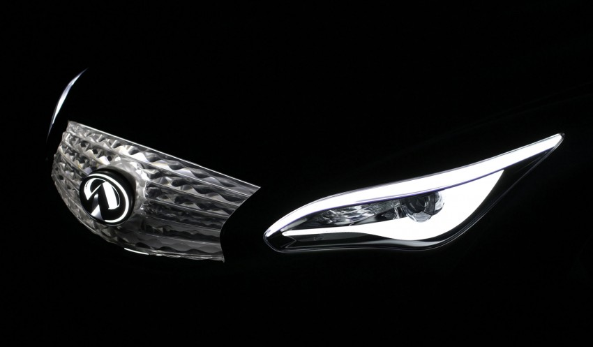 Infiniti LE Concept – the first electric vehicle for Infiniti Image #100110