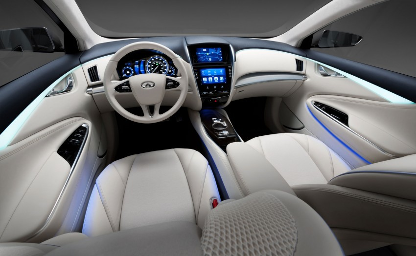 Infiniti LE Concept – the first electric vehicle for Infiniti Image #100180