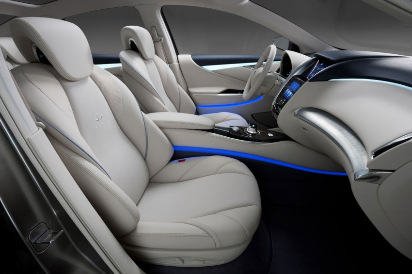 Infiniti LE Concept – the first electric vehicle for Infiniti Image #100199