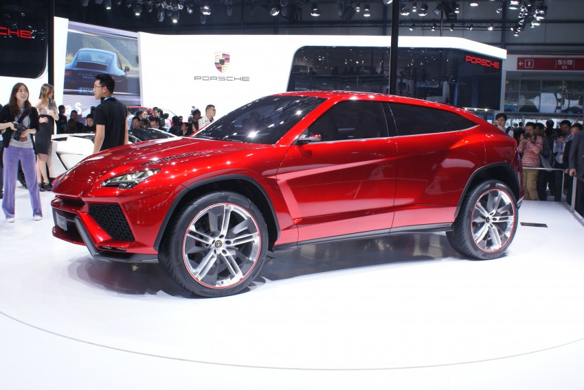 Lambo Urus concept SUV makes world debut in Beijing Image #103234