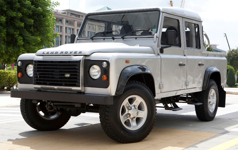 Defender 110 2018 >> Land Rover Defender 110 Double Cab now in Malaysia Image 46165