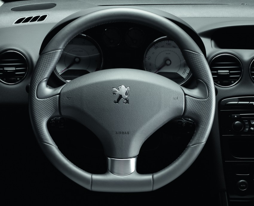 Leather Wrapped Sport Steering Wheel With Aluminium Ring