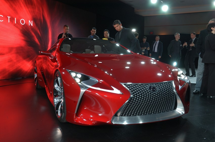 Lexus LF-LC Concept fully revealed, and it's spectacular! Image #83446