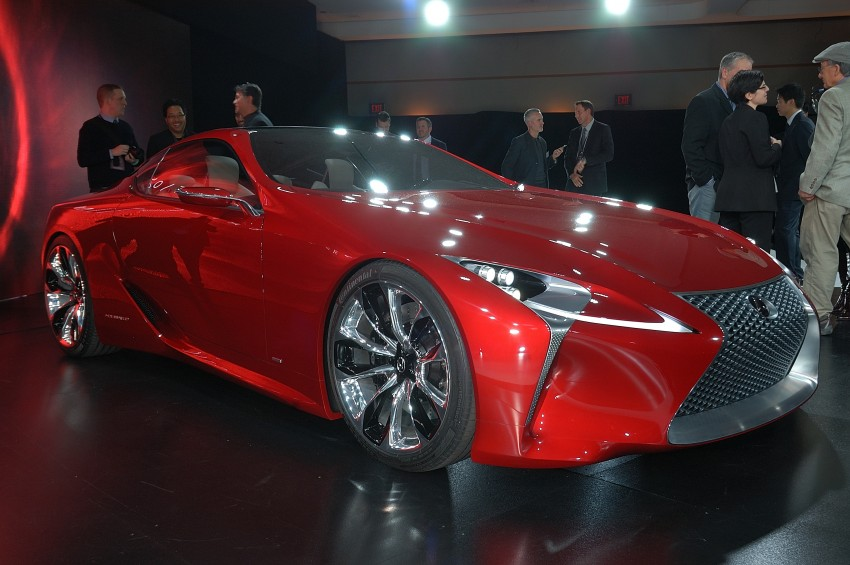 Lexus LF-LC Concept fully revealed, and it's spectacular! Image #83442