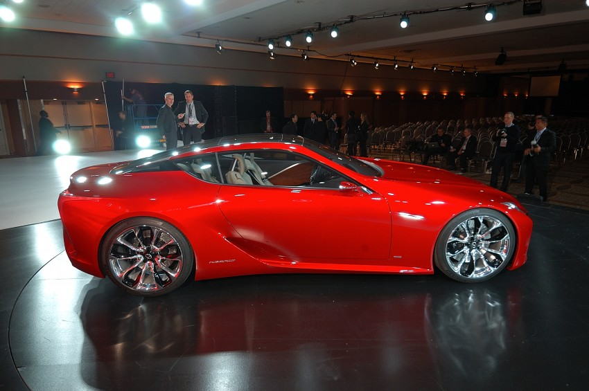 Lexus LF-LC Concept fully revealed, and it's spectacular! Image #83443