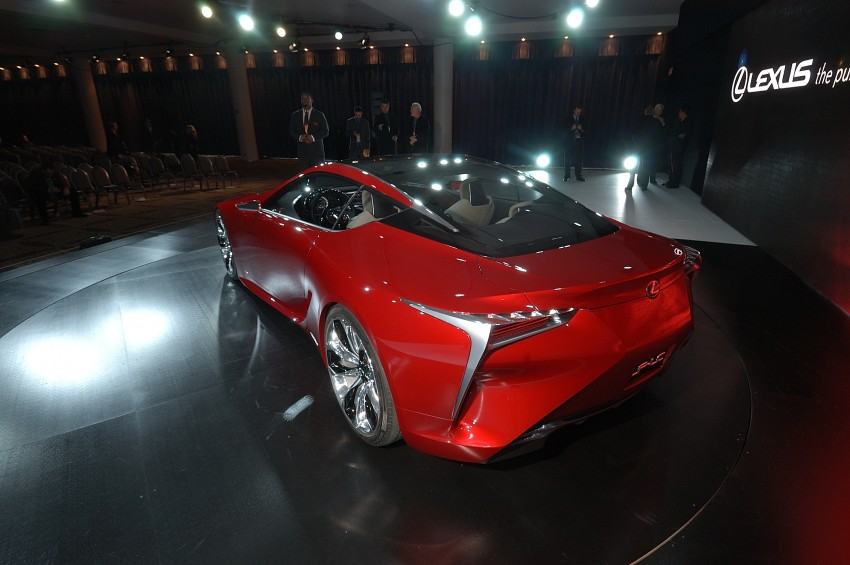 Lexus LF-LC Concept fully revealed, and it's spectacular! Image #83441