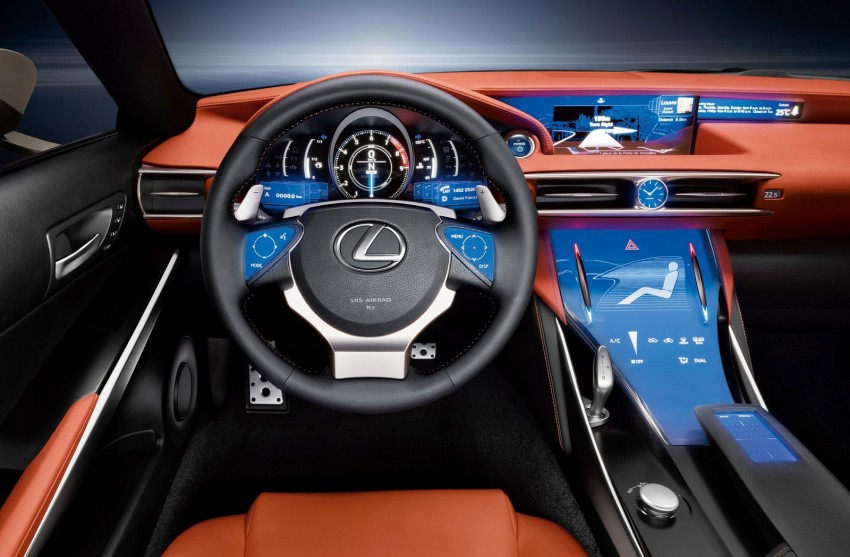 VIDEO: Lexus LF-CC Concept, a glimpse of the new IS Image #134171