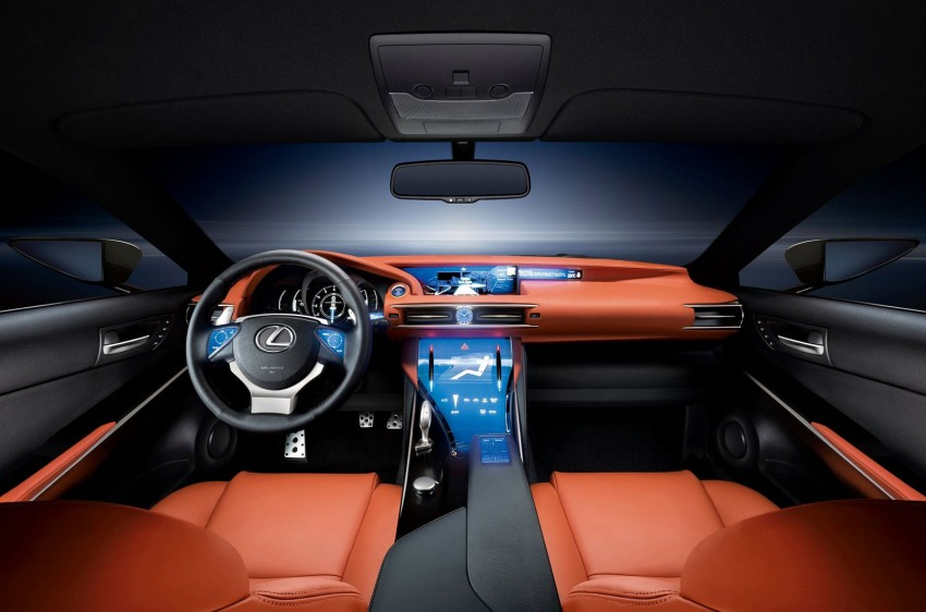 VIDEO: Lexus LF-CC Concept, a glimpse of the new IS Image #134172