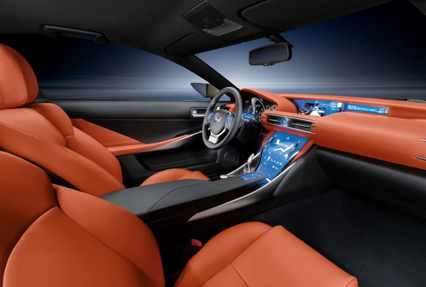 VIDEO: Lexus LF-CC Concept, a glimpse of the new IS Image #134173