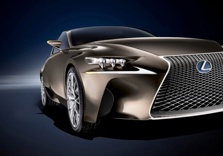 VIDEO: Lexus LF-CC Concept, a glimpse of the new IS Image #134174