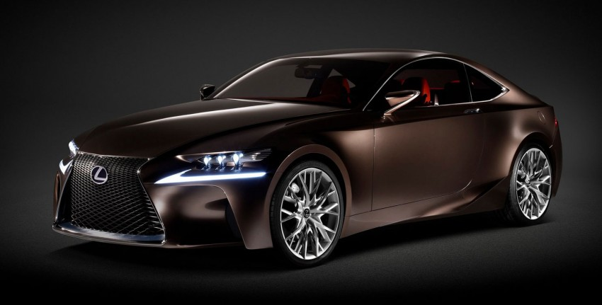VIDEO: Lexus LF-CC Concept, a glimpse of the new IS Image #134175