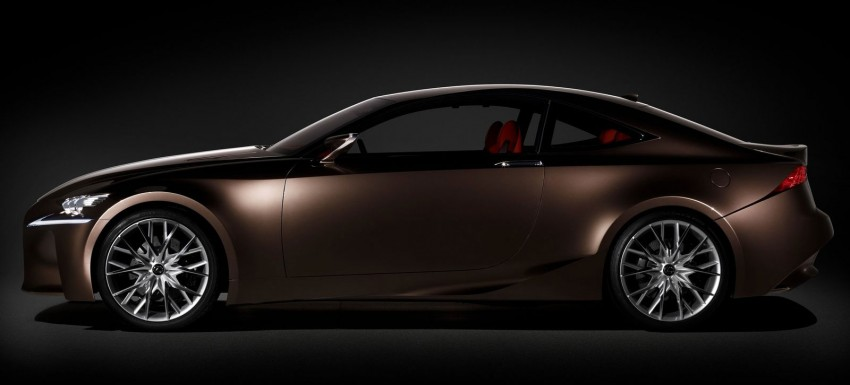 VIDEO: Lexus LF-CC Concept, a glimpse of the new IS Image #134176